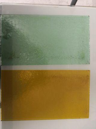 cristales de vidrieras antiguas.. precio x unidad