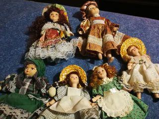 muñecas vintage de porcelana antigas