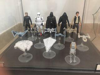 """Figuras """" guerra de las galaxias , star wars """""""