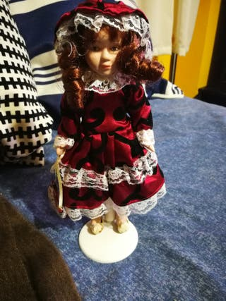 muñeca antiga porcelana