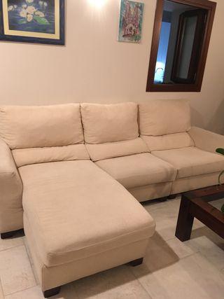 Conjunto de salón con sofá