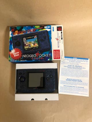 NEO GEO POCKET COLOR CONSOLE - STONE BLUE