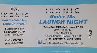 ikonic tickets