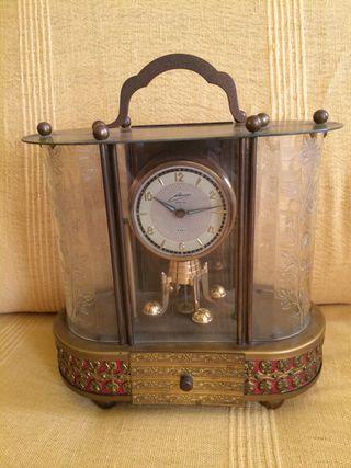 Reloj antiguo con caja de música ENVÍO GRATIS