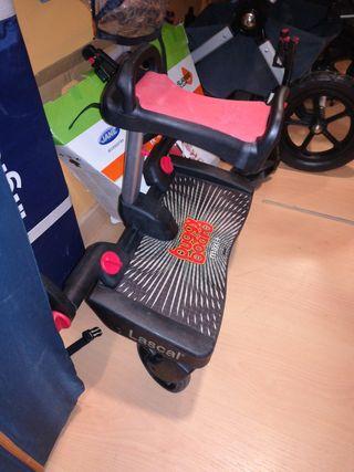 patinete Buggy Board con asiento