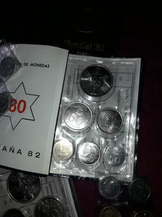 monedas mundial 82..