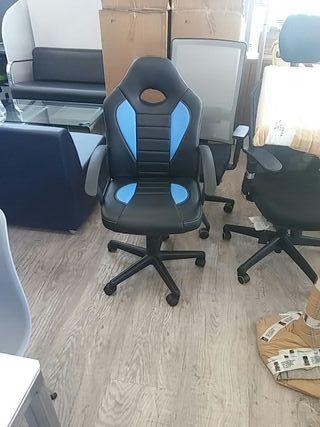 Sillas oficina nuevas ergonomicas muy comodas de segunda for Sillas de oficina comodas