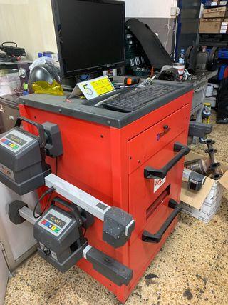 Máquina de alineación con bluetooth