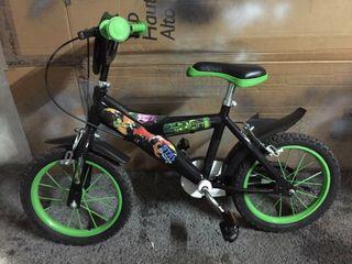 Bicicleta de niño hasta 5 años