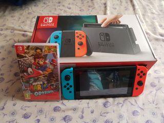Nintendo Switch Azul/Rojo NUEVA