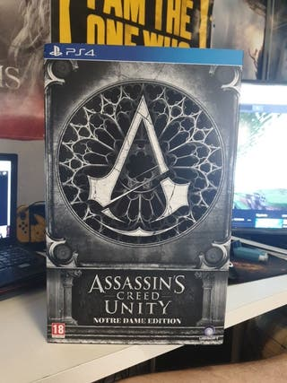 Assassins Creed Unity Notre Dame Edition completa
