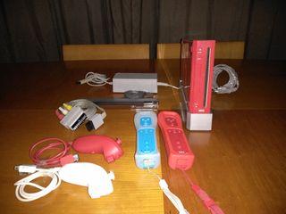 Wii Edición Especial Roja + 2 mandos