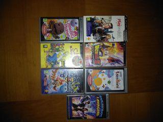 Juegos PSP + Película PSP