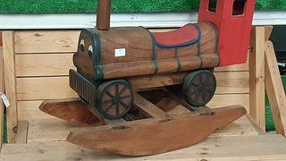 balancín de madera