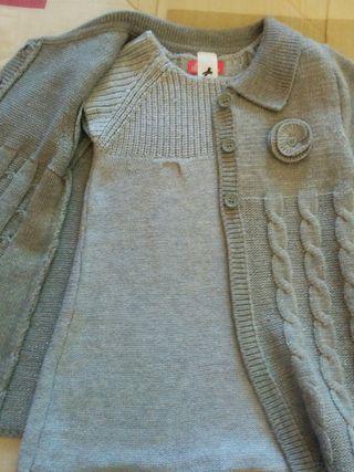 Vestido + chaleco