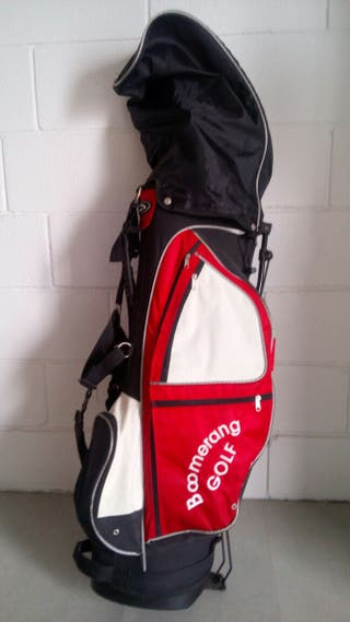 13 Palos de golf + bolsa boomerang