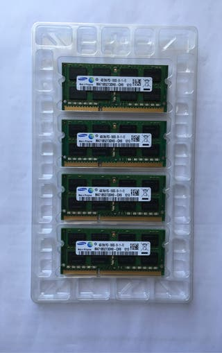 Kit 16GB DDR3 1332 iMac 2010 2011 4GBx4