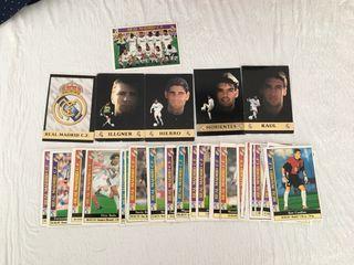 Cromos 98/99 Real Madrid