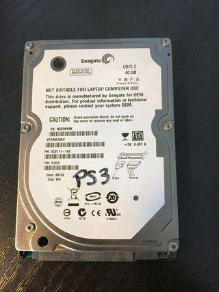 Disco duro HDD Seagate LD25.2 40GB PS3