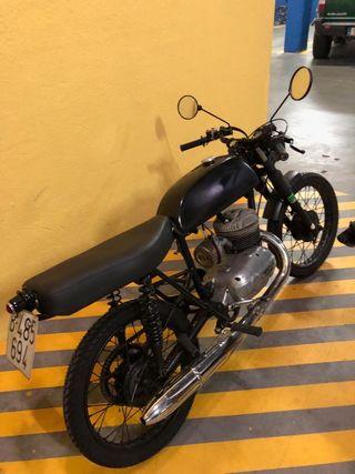 Bultaco Junior 125 Cafe Racer