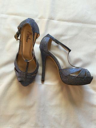 Zapatos Menbur fiesta Glitter