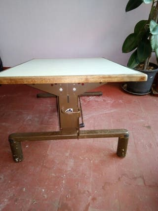mesa de autocaravana