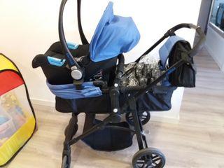 Lote bebe con carrito Nurse