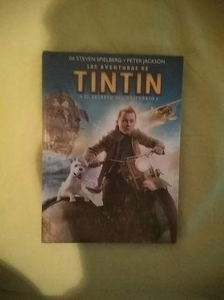Tintin Libro y Película.