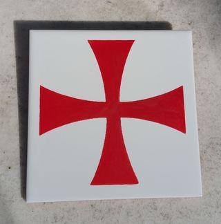 Azulejo cruz templaria