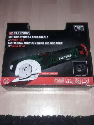 multicortadora recargable Parkside radial amolador