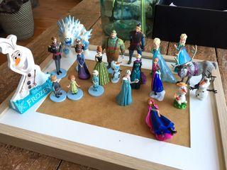 Lote de figuras Frozen Disney