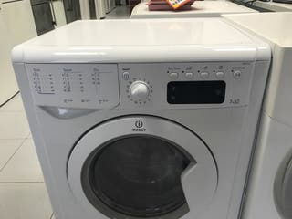 Lavadora con secadora marca indesit