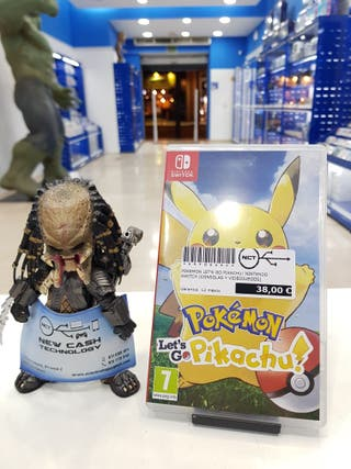 POKEMON LET'S GO PIKACHU NINTENDO SWITCH IMPECABLE