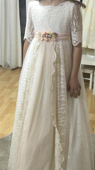 Vestido comunión Talla 10