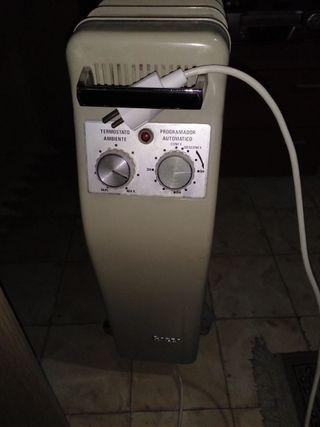 calefactor con aceite