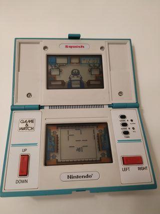 Consola Game and Watch Squish de Nintendo