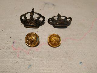 Botones y coronas