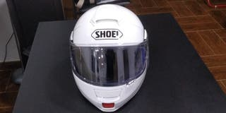 casco modular shoei neotec blanco