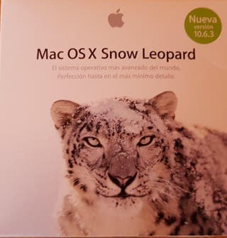 Software Mac OS X Snow Leopard