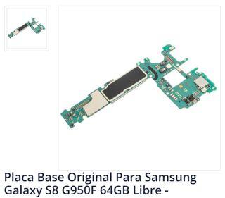 Placa base Samsung s8