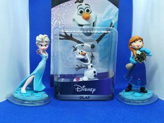 Disney infinity Elsa, Anna y Olaf.