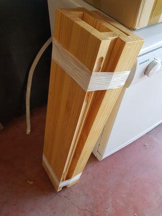 estanterias de madera maziza