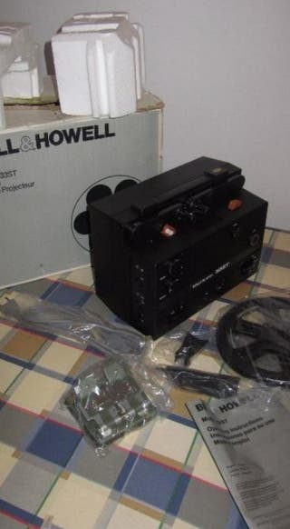 Proyector Bell & Howell mod 33st