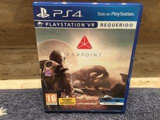 JUEGO FARPOINT VR PS4 NUEVO !!!!!