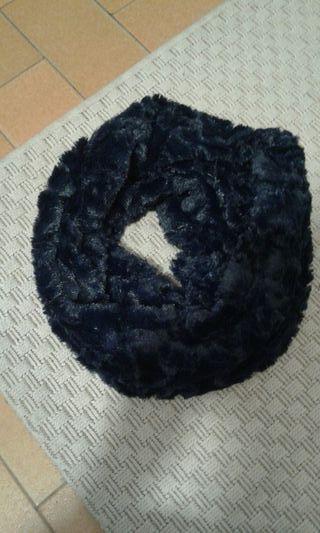 bufanda nueva azul