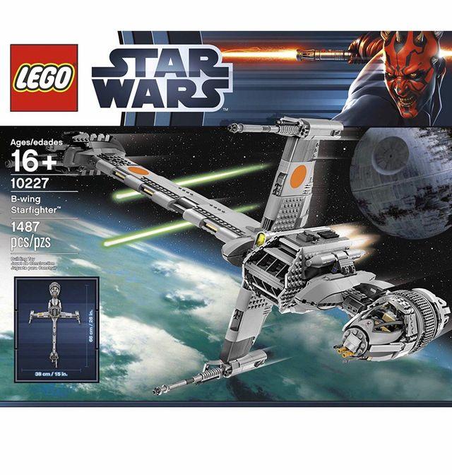Lego UCS Star Wars B-Wing Figther 10227 nuevo