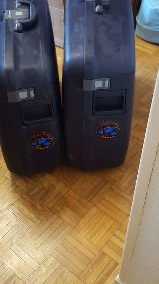 2 maletas
