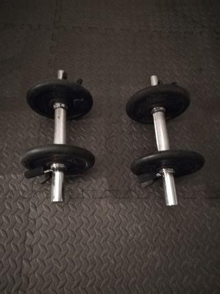 Mancuerna Musculación