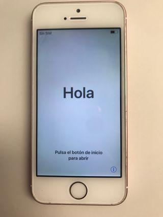 Iphone SE en color rosa