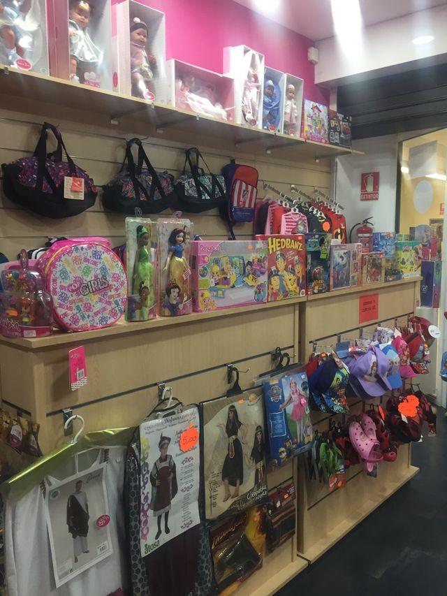 Traspaso negocio tienda PEKES TOY STORE